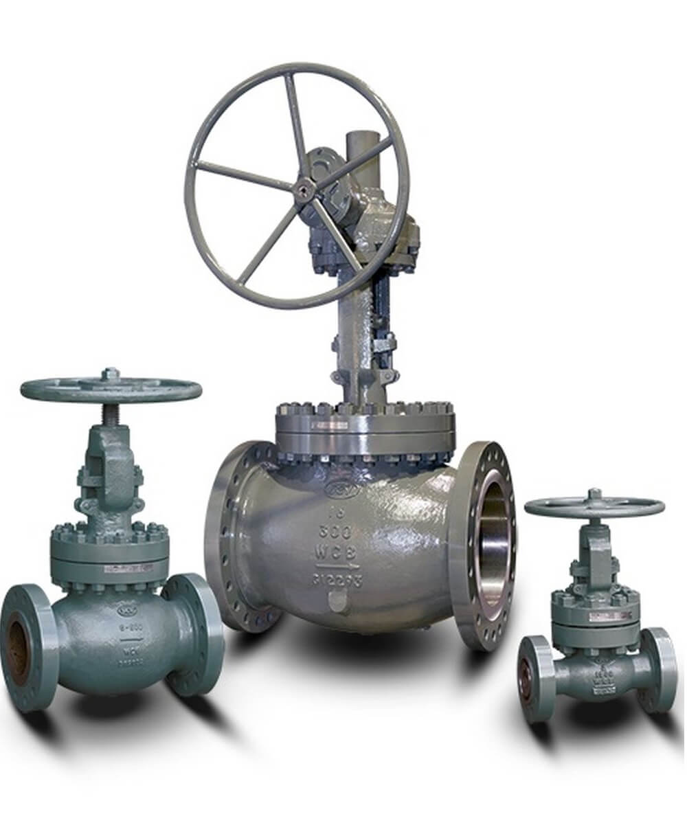 Gates, Globes & Check Valves
