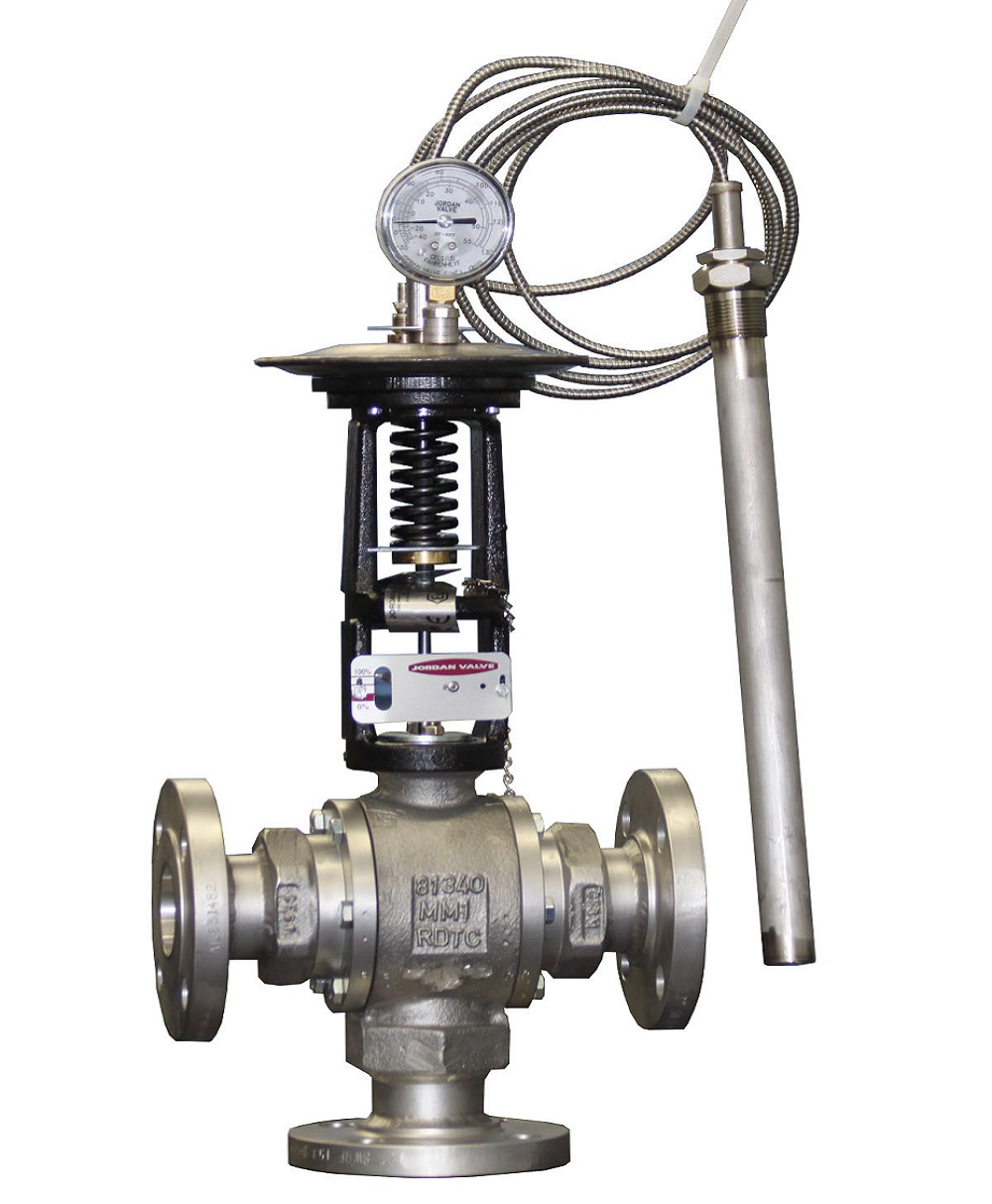 Industrial Mixing/Diverting Valves